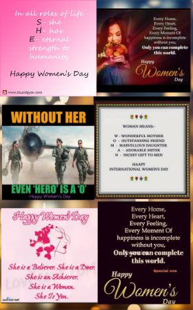The WhatsApp blitzkreig on Women's Day!!